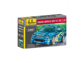 Heller Impreza WRC02 1