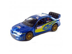 Subaru Impreza WRC 2007 model blue