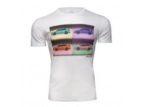 Tričko pop-art Subaru WRX STI